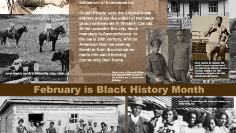 Poster: Black History Month 2019