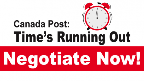 Canada Post: Time's Running Out - Negotiate Now!