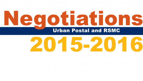 Urban and RSMC Negotiations 2015-2016